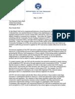 Regulatory Reform Over-The-Counter (OTC) Derivatives