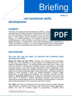 Technical VocationalDFID