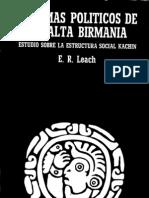 06 - Leach - Sistemas Políticos en la Alta Birmania