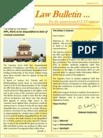 Abhyaas Law Bulletin - July 2013