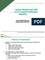 Presentation Globalcarbonmarket