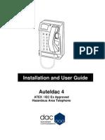 Auteldac 4 Manual