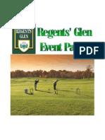 Regents' Glen Event Packet