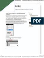 Catatan Coding_ Seleksi Rambut Dengan Teknik Masking Menggunakan Photoshop