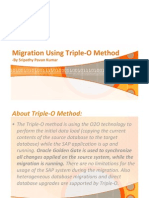 Migration Using Triple-O Method -Improved