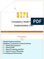 Competency Architecture - Project Phases