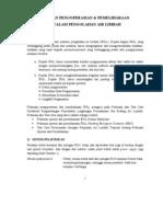 Pedoman Pengoperasian Dan Pemeliharaan IPAL