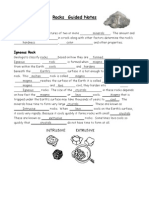 rocks guided notes with answers