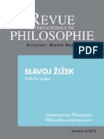 Slavoj Žižek - Revue internationale de philosophie