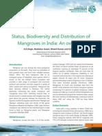 Status of Mangroves in India