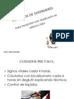 .CUIDADOS DE ENF. AL PACIENTE CON TRANSPLANTE DE MÉDULA ÓSEA[1]