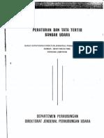 Skep.100 Thn. 1985 ( Peraturan Dan Tata Tertib Bandara)