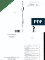 Felipe Martínez Marzoa - Cálculo y ser (Aproximación a Leibniz)