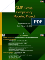 COMPETENCY MODEL PRESENTATION AFTER CREATING THE MODEL