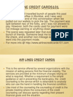 Airline Credit Cards101