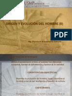 03 ORIGEN Y EVOLUCIÓN DEL HOMBRE II