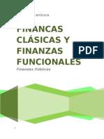 FINANCAS CLÁSICAS Y FINANZAS FUNCIONALES