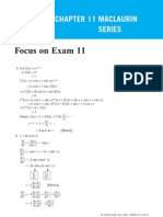 Chapter 11 Maclaurin Series