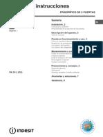 Manual de Frigorifico de Dos Puertas