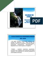 Tema 3. Calidad de Agua II