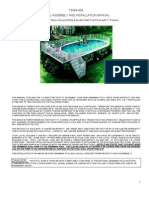 Monument above ground pool installation guide