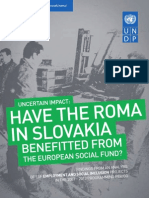 Have Roma in Slovakia benefitted from the European Social Fund?