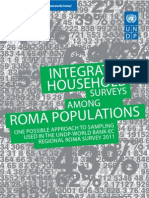 Roma household survey methodology