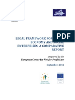 Legal framework for social economy and social enterprises