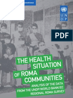 The health situation of Roma communities