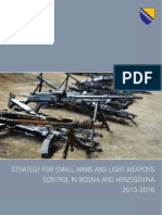 Strategy for small arms and light weapons control in Bosnia and Herzegovina 2013-2016