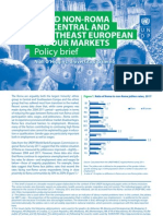 Policy brief - Roma and the labour market