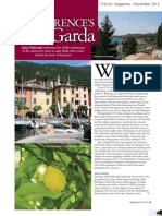 Italia! Magazine (Uk) - Dh Lawrence  Bresciatourism Press trip