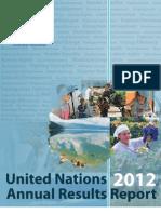 United Nations fYR Macedonia Activity Report 2012