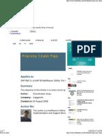 Process Chain