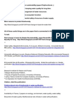 Real change in basis for water sustainability (paper-Polyfunctional...) Change in scientific basis for keeping water quality for long time. http://ru.scribd.com/doc/154055252/