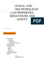 Gas Properties and Behaviours