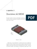 Elementi flessibili e frequenze di risonanza - MEMS