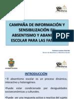 Campaña de Información y Sensibilización 2013