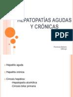 HEPATOPATÍAS AGUDAS Y CRÓNICAS