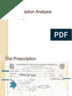 Prescription Analysis1