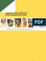 Australian WHS Strategy 2012 2022