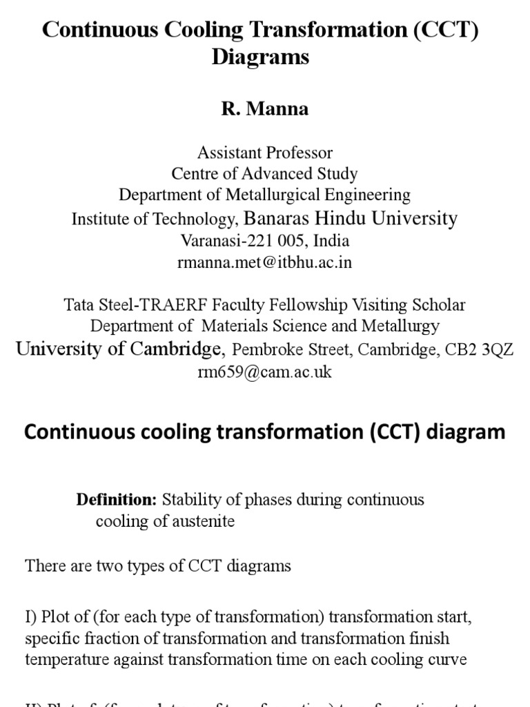 Cct diagram for steelspdf heat treating steel ccuart Image collections