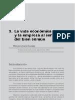 Cuesta_LA VIDA ECONÓMICA Y LA EMPRESA AL SERVICIO DEL BIEN COMÚN