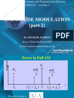 Lecture 3 Amplitude Modulation Part 2