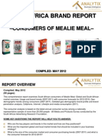 South African Mealie Meal brands