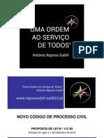 CÓDIGO DE PROCESSO CIVIL 2013 - ESQUEMA