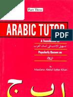 ArabicTutorpart-3ByMaulanaAbdulSattarKhan