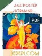 Vintage Poster Lenormand 2013