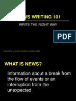 Lv News Writing 101