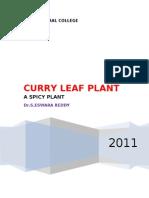 Murraya Koenigii-The Spicy Plant